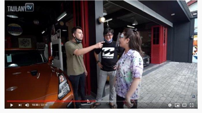 Raffi Ahmad Emosi ada Mobil Mantan Nagita Slavina ada di Garasi Andre Taulany, Begini Ekspresi Gigi!