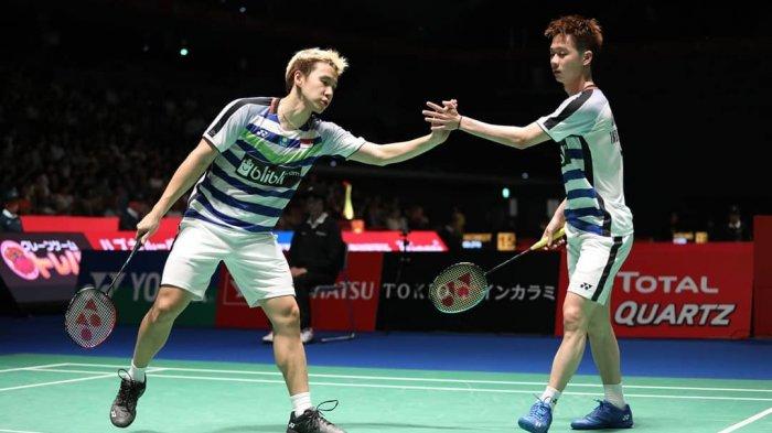 Turun di German Open 2021, Ini Deretan Prestasi 'The Minions' Marcus/Kevin:Ganda Putra No 1 di Dunia