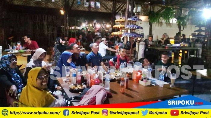 Ramaikan Pesta Bola Piala Dunia 2018 di Resto D'Matto Millenial Art Palembang, Ada Hadiah Menarik