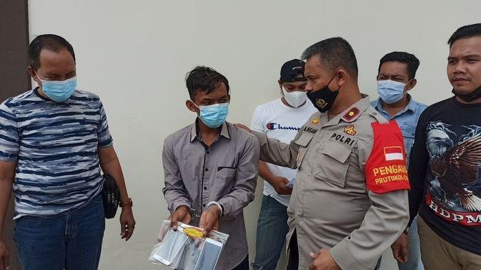 Ponsel Kurir di Palembang Dijambret, Ternyata Pelakunya Si Pemesan, Kini Terancam 7 Tahun Penjara