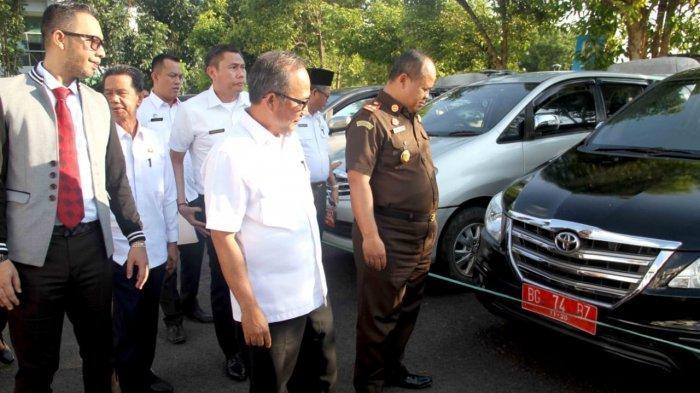 Sinergitas Pemkab Muba dan Kejari Muba, Tarik 18 Unit Randis dari Mantan Pejabat dan Eks Dewan
