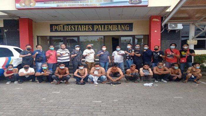 Jukir Liar di Jalan MP Mangkunegara Palembang Kocar Kacir Saat Didatangi Rombongan Ipda Jhony Palapa