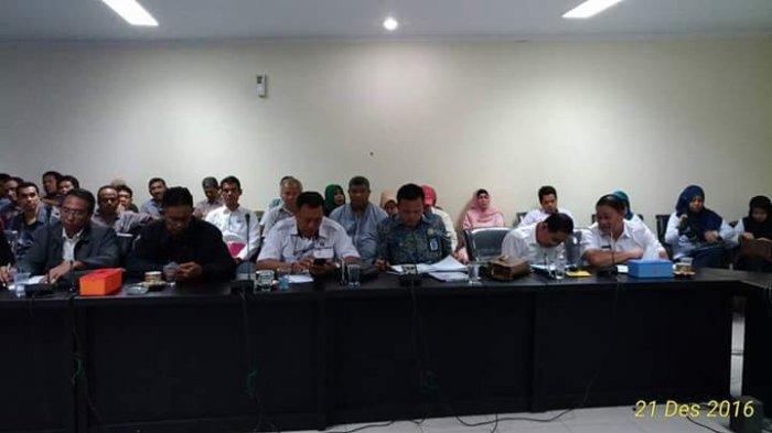 Pedagang PD Pasar dan Komisi II Duduk Bersama Tentukan Nasib Pedagang