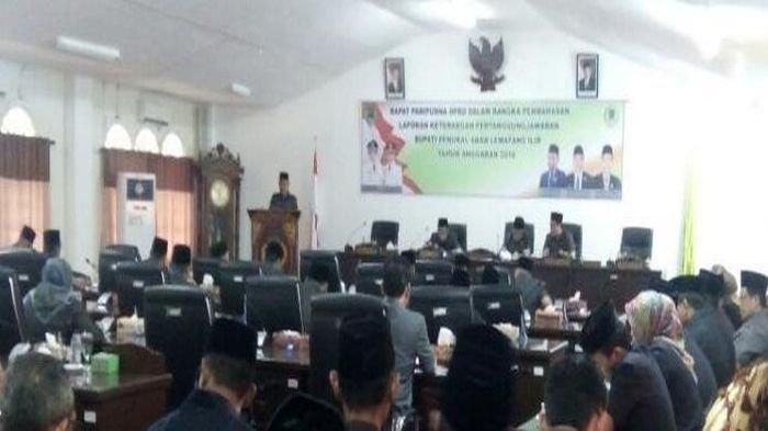 9 Raperda Diajukan ke DPRD Pali