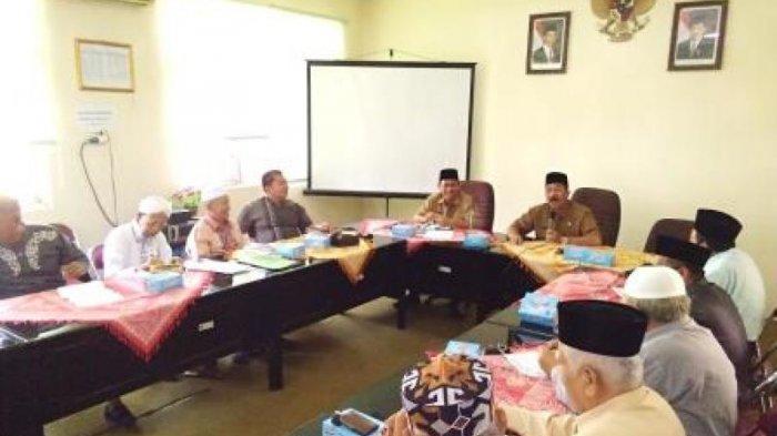 Rapat Koordinasi BPIH Persiapan Pembuatan Paspor dan Visa