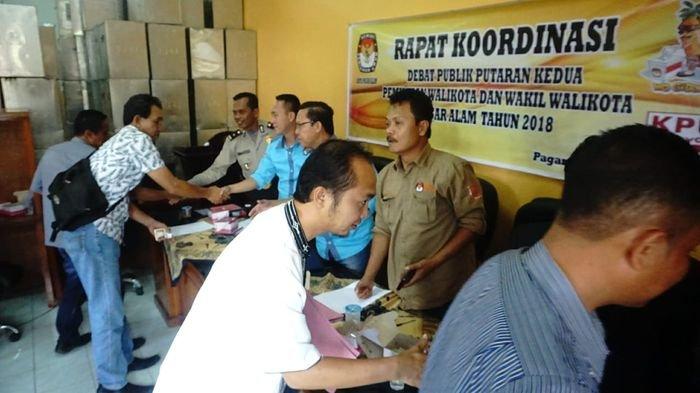 Debat Kandidat Pilwako Pagaralam Kedua Digelar 21 Juni, Polres Lakukan Pengamanan Ekstra