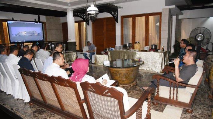 Direnovasi, Kantor Gubernur Sumsel Miliki Roof Garden dan Alun-Alun Mirip Hotel Indonesia Zaman Dulu