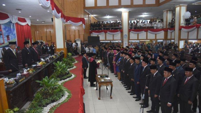 Ini Susunan Lengkap Ketua Komisi Wakil Sekertaris DPRD Sumsel 2019-2024, Didominasi PDIP dan Golkar