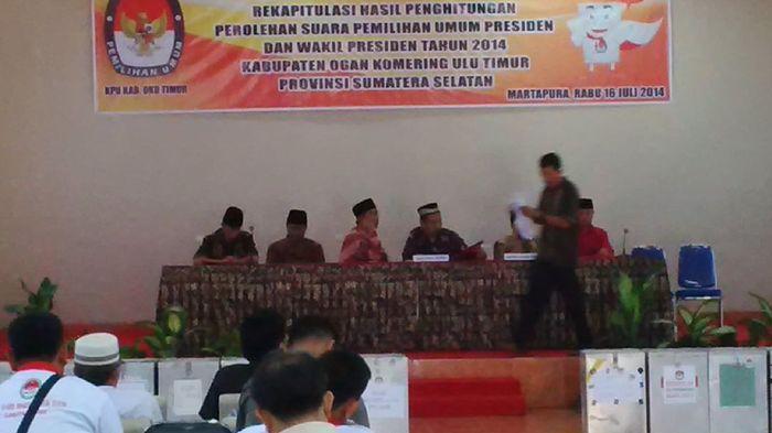 Raih 225.364 Suara, Prabowo-Hatta Unggul di OKU Timur