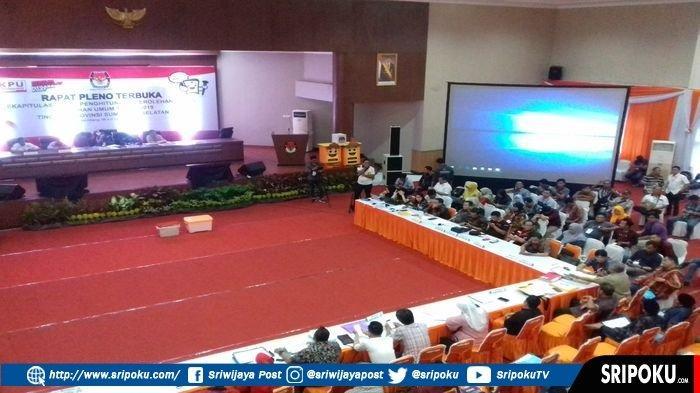 Rapat Pleno Rekapitulasi Suara Empatlawang di KPU Sumsel Diperpanjang, Saksi Partai Kecewa