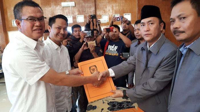 Hasil Rapat Pleno Pagaralam, Pasangan Alpian Maskoni & Muhammad Fadli Wako & Wawako Terpilih