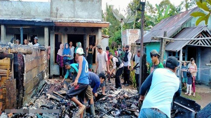 3 Rumah di 2 Kecamatan di Lahat Terbakar Saat Pemilik Bermalam di Kebun, Diduga Arus Pendek Listrik