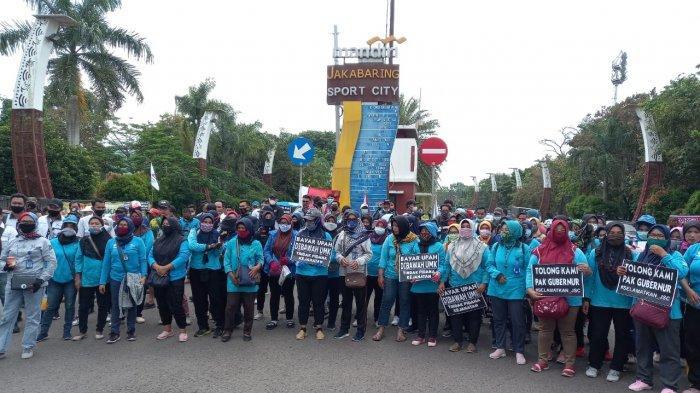 10 Bulan Gaji tak Dibayar, Ratusan Pekerja PT JSC Mogok Kerja, Manajemen Cuma Mengandalkan APBD