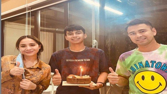 Nagita Slavina, Dimas Ahmad dan Raffi Ahmad