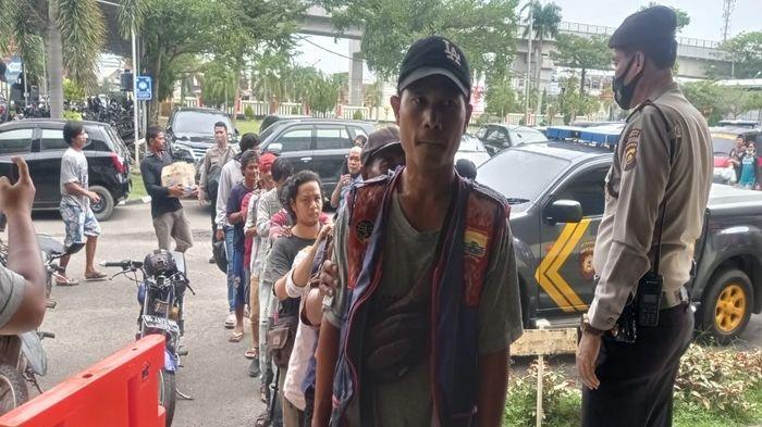 Tak Gunakan Masker 27 Warga Palembang Terancam Didenda Rp 500 Ribu