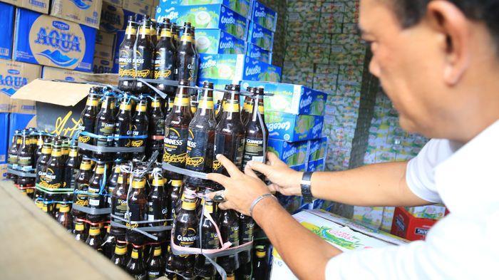 Pendataan Penjual Minuman Beralkohol