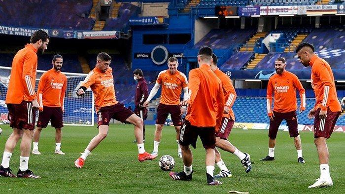 Prediksi Susunan Pemain Chelsea vs Real Madrid Liga Champions, Sergio Ramos Kembali di Lini Belakang
