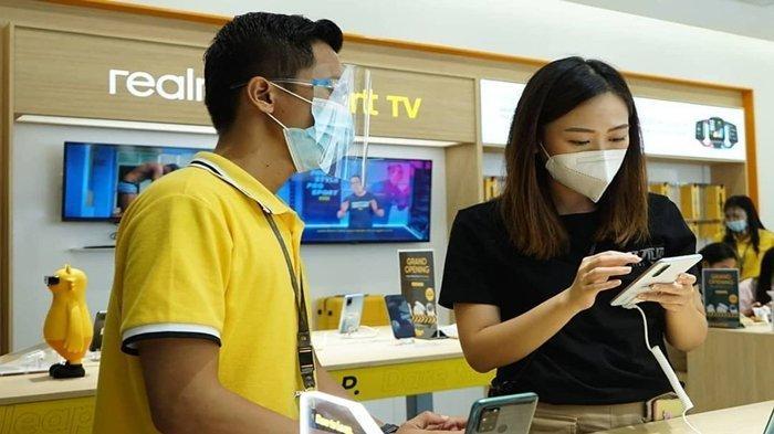 Respon Warga Palembang untuk Smartphone Realme 5G, Erafone Palembang Square: Tak Perlu Indent