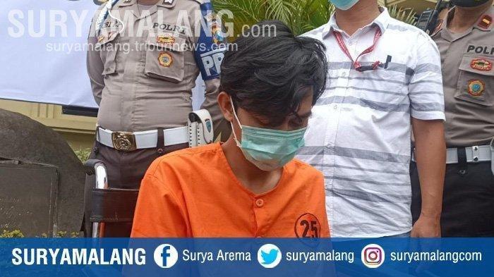 Refi Purnomo tersangka pembunuhan cewek Bandung, Mira Yura, di Hotel Lotus Kediri.