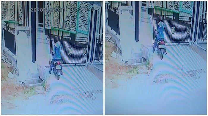 PULANG Terakhir dari Masjid, Uang di Dalam Kotak Amal Dibawa Kabur, Aksi Pelaku Terekam Kamera CCTV