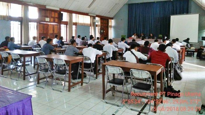 Rekruitemen Tenaga Mandor Lapangan Digelar PT. Pinago Utama di SMK PP N Sembawa