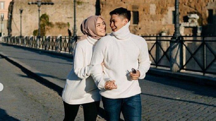 Citra Kirana dan Rezky Aditya saat bulan Madu di Italia