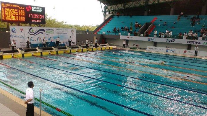 Sirkulasi Air di Venue Akuatik Jakabaring tak Jalan, Atlet Loncat Indah Gatal-gatal dan Mata Perih