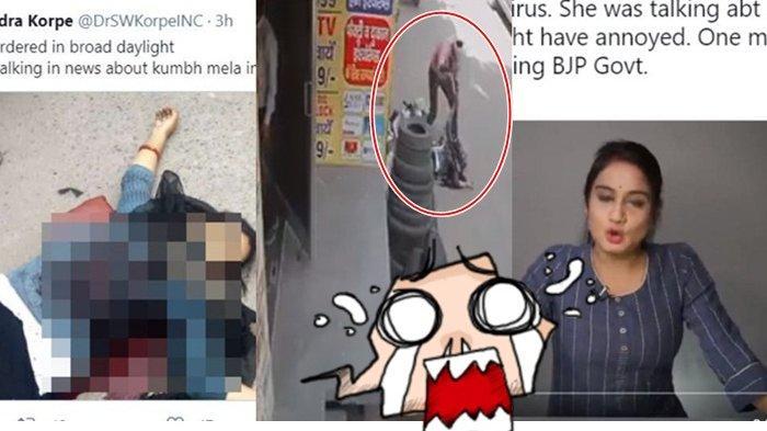 Beredar Video Reporter India Ditusuk hingga Tewas, Disebut Karena Beritakan COVID-19, Cek Faktanya!