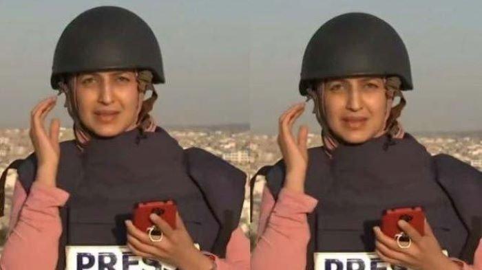 Demi Laporkan Berita, Aksi Berani Reporter Siaran di Tengah Serangan Israel ke Palestina Tuai Pujian