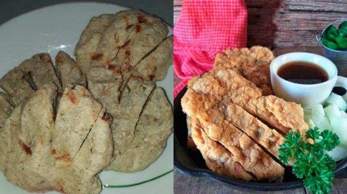 Resep membuat pempek kulit crispy yang digunting.