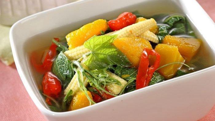 Resep Sayur Bening Labu Kuning Enak, Hidangan Makan Siang Berkuah Praktis dan Bergizi