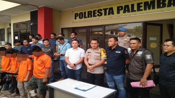 Empat Kawanan Residivis Digulung Tim Ranmor Polresta Palembang, Satu Orang Terpaksa Ditembak