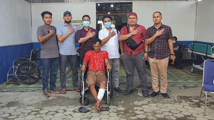Gasak Motor Pelajar di Desa Talang Bulang, Warga PALI Ini Keok Diberi Timah Panas Tim Elang