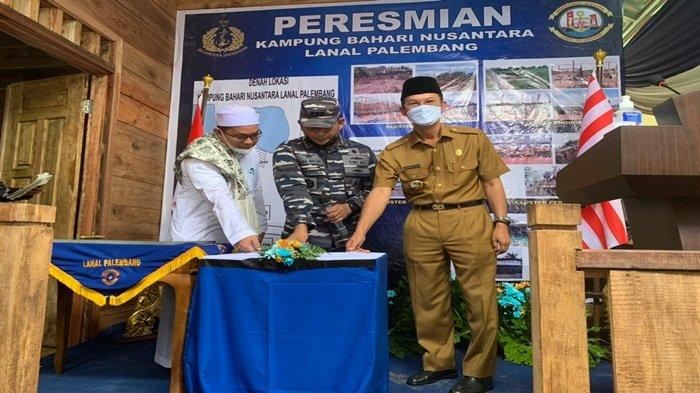 15 Ulu Jakabaring Dipilih Sebagai Kampung Bahari Nusantara, Pangkalan Lanal TNI AL Palembang