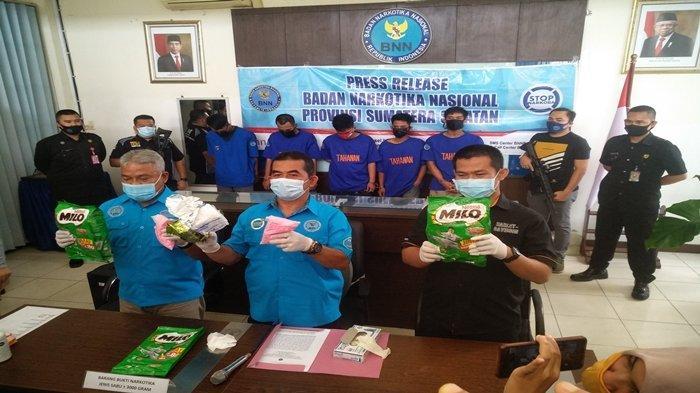 Pecatan TNI Jadi Kurir Narkoba Lintas Provinsi Tertangkap di Sumsel, Ngakunya Baru Satu Kali Antar