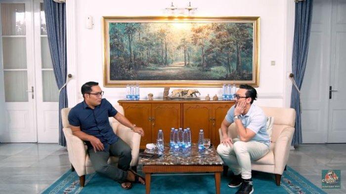 Ditanya Pilihan Antara Anak atau Pasangan, Ridwan Kamil Jawab Begini pada Denny Sumargo