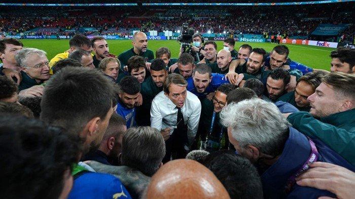 Gli Azzurri Panik, Jelang Italia vs Inggris di Final Euro 2020, Ada Unsur Tim Terpapar Covid-19