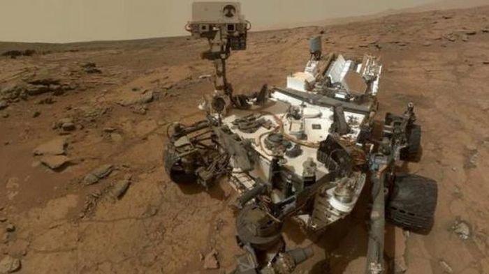 Layaknya Bumi, Planet Mars Pernah Punya Danau Air Asin
