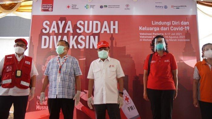 Rotary Club Jakarta Metropolitan Dukung PMI & Sinarmas MSIG Life Beri Vaksin Gratis ke 10 Ribu Orang