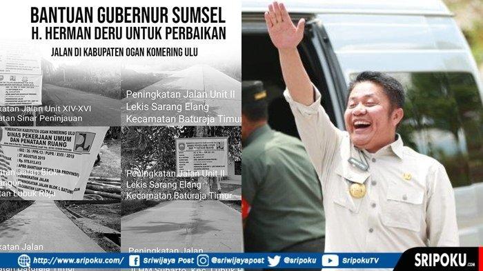 Rp11,5 Miliar Bangub Herman Deru Mengucur ke Kabupaten OKU untuk Tahun 2019