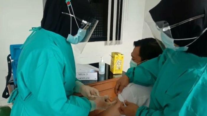 RSUD Besemah melakukan simulasi tahapan vaksin Covid-19 jelang akan dilakukannya vaksinasi kepada Nakes di Pagaralam.