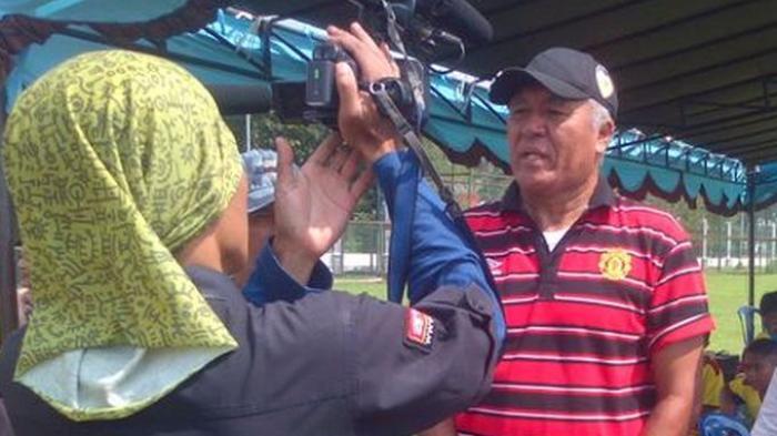Rudy Keltjes, eks-Pelatih Sepakbola Tim PON Sumsel Dikabarkan Kecelakaan:Banyak Orbitkan Pemain Muda
