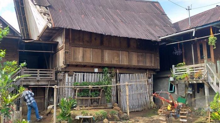 Begini Uniknya Rumah Baghi di Desa Pelang Kenidai Pagaralam, Dibangun Mengelilingi Masjid