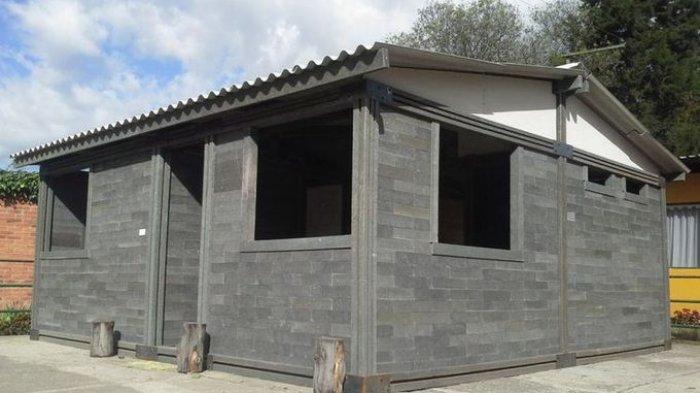 Rp 90,4 Juta, Rumah Murah Dibangun dalam Lima Hari