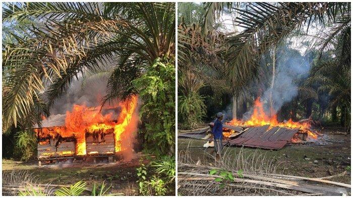 RUMAH Tasim Sekejap Rata dengan Tanah, Digulung Kobaran Api Kompor Gas Meledak, Ini Penampakkannya!