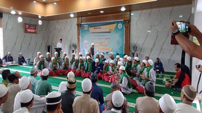 25 Hafiz Rutan Pakjo Palembang Bikin Perayaan Isra Mikraj di Masjid At Taubah Haru Biru