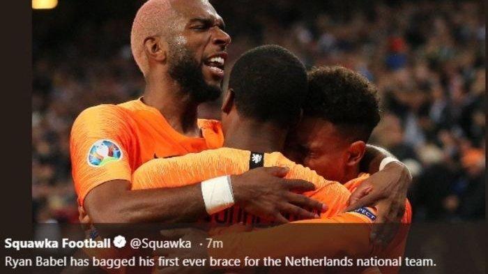 Jadwal Pertandingan Euro 2020 Grup C: Diisi Timnas Belanda Namun sang Kapten Absen Live RCTI Mola TV