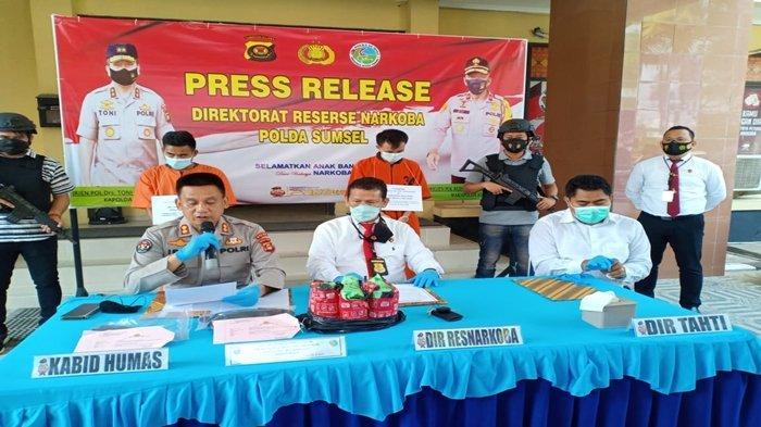 Usai Kurirnya Ditangkap di Kawasan Eks Ramayana Palembang, Ponsel Warga Padang Mendadak Tak Aktif