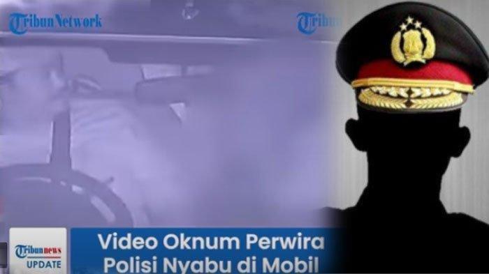 TEREKAM CCTV, BERANI-Beraninya Nyabu di Mobil Dinas Terekam CCTV, Ini Dia Sosok Kompol YC