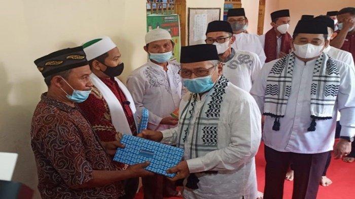 Nuzulul Qur'an 1442 H dilaksanakan bertepatan dengan Safari Ramadhan dan Taraweh Keliling Bupati dan Wakil Bupati Banyuasin berlangsung di Kelurahan Sukamoro Kecamatan Talang Kelapa, Kamis (29/04/2021).